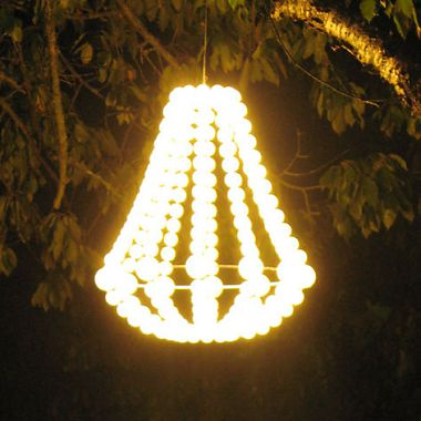 "Glänsa <br /> Crown with 240 LEDs<br /> Produced by <a target=""blank"" href=""http://www.ikea.com/"">IKEA</a>."