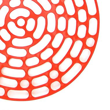 "Code <br /> Plate in powder coated steel<br /> Produced by <a target=""blank"" href=""http://www.asplund.org/"">Asplund</a>."