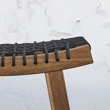 "Stackholmen<br /> Outdoor stool in solid wood and rope.<br /> Produced by <a target=""blank"" href=""http://www.ikea.com/"">IKEA</a>."